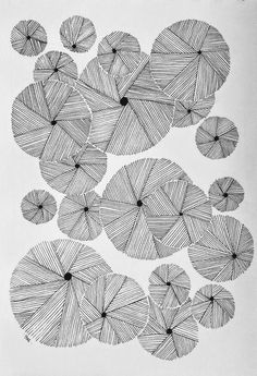 Circles and more circles Doodle Art Drawing, Zentangle Drawings, Art Drawings, Zentangles, Doodle Patterns, Zentangle Patterns, Art Zen, Tangle Art, Geometric Art