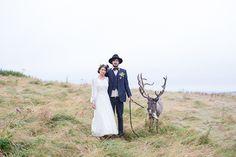 Vintage Inspired Woodland Wedding Inspiration | Sarah Falugo Photography