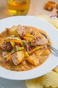 Bacon Double Cheeseburger Soup