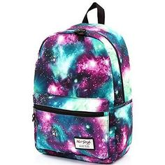 [HotStyle Fashion Printed] TrendyMax Galaxy Pattern School Backpack Cute for New | eBay