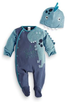 Buy Dino Dress Up With Hat from the Next UK online shop Outfits Niños, Baby Boy Outfits, Kids Outfits, Baby Boy Fashion, Kids Fashion, Baby Kind, Baby Wearing, Future Baby, Kids Wear