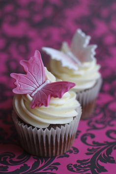 Wallpaper Butterfly Cupcakes For PC Free Download Wallpaper