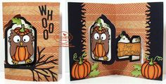StampOwl's Studio: Karen Burniston October Designer Challenge Day 2