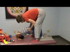 Organizing the Hands and Upper Body on a Child with Cerebral Palsy