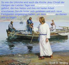 Gibt es auch heutzutage von Gott berufene Menschenfischer, die uns helfen Christus näherzukommen?