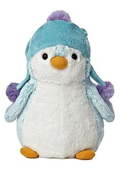 PomPom Bright Blue Penguin Plush From Aurora World Penguin Party, Penguin Love, Cute Penguins, Cute Stuffed Animals, Cute Animals, Ty Toys, Beanie Boos, Santas Workshop, Pet Shop