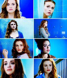 Lydia Martin + blue