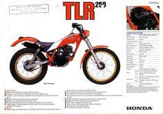HONDA Trials TL RS TLR RTL