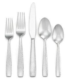 Oneida Illuma 50-Pc Set, Service for 8 - Flatware & Silverware - Dining & Entertaining - Macy's Bridal and Wedding Registry