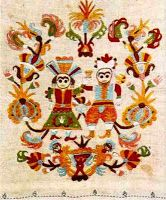embroidery from skyros Embroidery Stitches, Embroidery Designs, Chinese Crafts, Textile Fabrics, Fabric Art, Art Google, Folk Art, Weaving, Kids Rugs