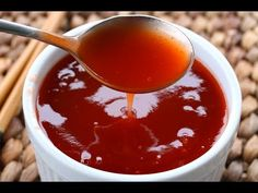 How to make Easy Sweet n Sour Sauce Recipe - Chinese Restaurant Style - YouTube