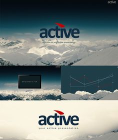 Active Presentation PowerPoint Template #powerpoint #powerpointtemplate Download: http://graphicriver.net/item/active-presentation/9218665?ref=ksioks