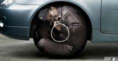 Estas são as peças do Subtract 95, um repelente que promete manter os cães e gatos bem longe das rodas  do seu carro.