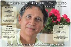 Agenda de Agosto/2015 Satsang com Mestre Gualberto