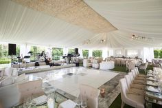 Nothing more classic than a white tented wedding in the summer time. Our New York Charlotte Dining Chair was the perfect addition to this… White Tent Wedding, Summer Wedding, Reception Design, Event Design, Corporate Events, Summer Time, Catering, Dining Chairs, Table Decorations