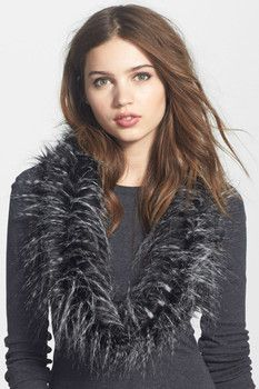 Leith Leith Faux Fur Infinity Collar