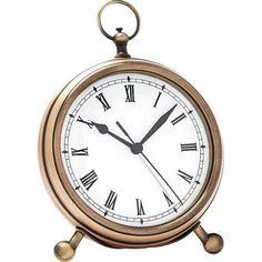 Pocket Watch Clock, Medium, Brass At Pottery Barn - Decor & Pillows - Clocks