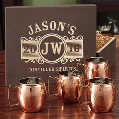 Custom wood sign to hold copper moscow mule mugs! - Google Search https://worldofarcadian.com/collections/moscow-mule-mugs