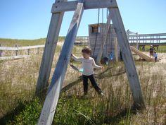 Beach Playground, Magdalen Islands, Canada