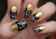 39 Awesome creative nail art ideas images