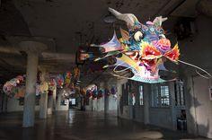 ai weiwei installs seven large-scale works on alcatraz island
