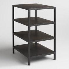 One of my favorite discoveries at WorldMarket.com: Black 3 Shelf Colton Mix
