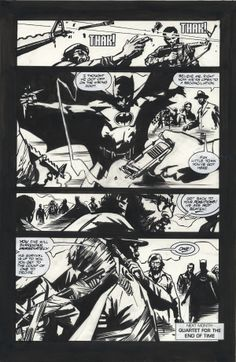 Challengers-Batman-All art by John Paul Leon-pencils and Bill Reinhold-inks, Written by Steven Grant