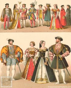 Indumentaria y moda: siglo XVII
