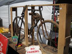 early Pierce brand bike in it's original crate!New old stock,never sold,brand new!