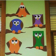 Related Posts:Owl craft preschoolLearning color activitiesBird themed crafts for preschoolersAnimal craft ideas for kids Owl Crafts Preschool, Kids Crafts, Preschool Art Activities, School Board Decoration, Class Decoration, School Decorations, Arte Elemental, Shape Crafts, Animal Crafts