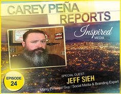 Carey speaks with the Manly Pinterest Tip guy, Jeff Sieh. Together they discuss the value of Pinterest for your website and how to get tons of traffic.