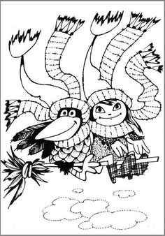 Coloring Books, Coloring Pages, Childhood Stories, Cute Doodles, Kids Learning, Halloween, Fairy Tales, Witch, Mandala