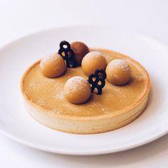 Branco brûlée tart with caramelized white chocolate просто хотела сказать что…