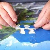 Puzzles help people with dementia