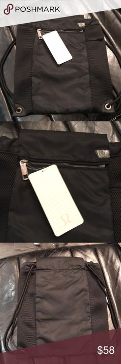 cd9f348545 Lululemon Brand new black backpack. Great for the gym or hiking. lululemon  athletica Accessories