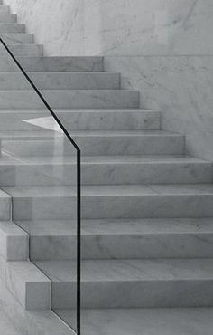 Solid marble stairs by Spanish Architects Suarez Santas - Enterprise Park in Arte Sacro, Spain 2010