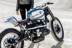 Riviera Style: A sleek BMW R100 custom from the South of France