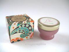 AVON Lilac Perfume Cream Sachet, boxed, pretty pink glass jar, vintage 1970s toiletry, by VintageImageBox