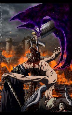 Nanatsu No Taizai 229 Almighty Death Demon by IITheYahikoDarkII