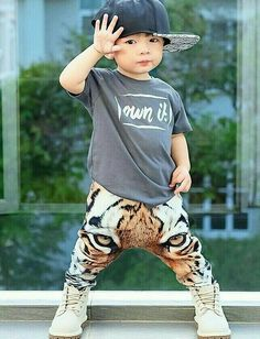 Cool Kids Clothes, Cute Outfits For Kids, Cute Kids, Boy Outfits, Cute Babies, Toddler Swag, Toddler Boy Fashion, Little Boy Fashion, Kids Fashion