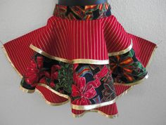 Girl's Half Apron Holiday Prints by LizandLaurie on Etsy, $12.00