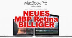 Aktion: Neue 2013 Apple Macbook Pro Retina billiger bestellen - 75 Euro gespart!  - http://apfeleimer.de/2013/10/neue-macbook-pro-retina-billiger-bestellen - Neues Apple Retina Macbook billiger bestellen oder kaufen?! Mit den beiden neuen 13 Zoll und 15 Zoll Apple Macbook Pro Retina mit Haswell Chips hat Apple wieder vorgelegt! Wer beim neuen 2013 Apple Macbook Pro mit Retina Display jetzt zuschlägt, darf ein zukunftssicheres Notebook erwarten mit ...