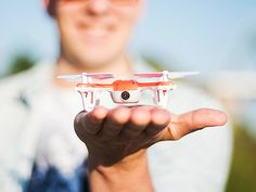 Explore the skies and take the footage to prove it with the SKEYE Mini Drone. From mastering smooth landings to pulling off impressive flips and rolls, you choose the adventure and the SKEYE Mini Drone will take you there. This perfectly-sized drone packs both a beginner and veteran pilot mode for a guaranteed good time no matter your experience.