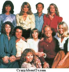Knots Landing original Cast :Ted Shackelford, Michele Lee ,Joan Van Ark , Donna Mills, Don Murray,  Constance McCashin , John Pleshette
