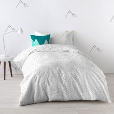 Shop our variety designs of duvet cover cotton with 150 thread count. Create Space, Linen Bedding, Happy Friday, Comforters, Duvet Covers, New Homes, Kids, Furniture, Design