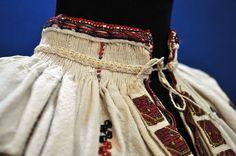 Traditional Romanian clothing 1890 - 1910. Embroidery details Folk Costume, Costumes, Hard Wear, How To Wear, Folk Clothing, Traditional Outfits, Dress Patterns, Embroidery Patterns, Boho Shorts