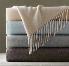fall is in the air! love these blankets.