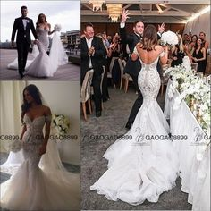 Amazing Detailing Steven Khalil Collection Beach Mermaid Wedding Dresses 2016 Off-shoulder Arabic Trumpet Bridal Wedding Gowns Online with $174.87/Piece on Gaogao8899's Store | DHgate.com
