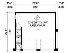 1st Floor Plan, 072G-0034