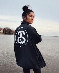 Stussy Logo coaches jacket